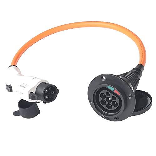 K.H.O.N.S. Tipo 1 a Tipo 2 EV Adaptador 32A EV Cable de...