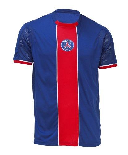 Trikot Fan PSG–offizielle Kollektion PARIS SAINT GERMAIN–Fußball Club Liga 1–Größe Erwachsene Herren, Blau, XL