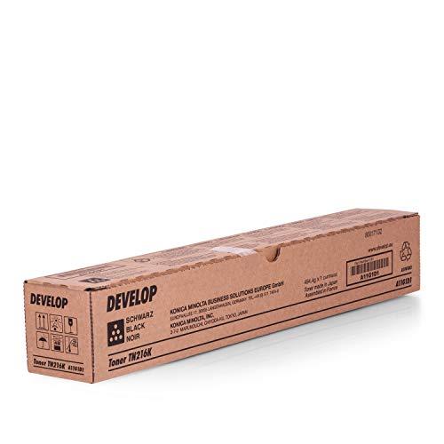 Original Develop A11G1D1 / TN-216 K, für Ineo + 220 Premium Drucker-Kartusche, Schwarz, 29000 Seiten