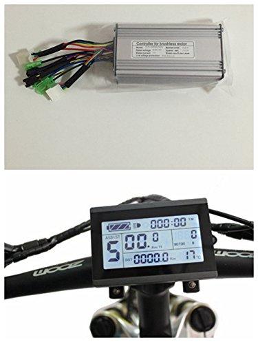 Nbpower controller per motore senza spazzole di bici elettrica, 36V/48V, 500W, 22A, DC + display KT-LCD3One set, utilizzato per kit bici elettrica 500W
