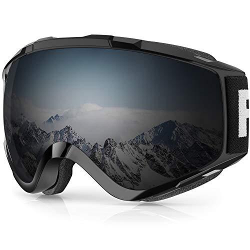 Findway Gafas de Esquí Máscara Esqui Snowboard Nieve Espejo para Hombre Mujer Adultos