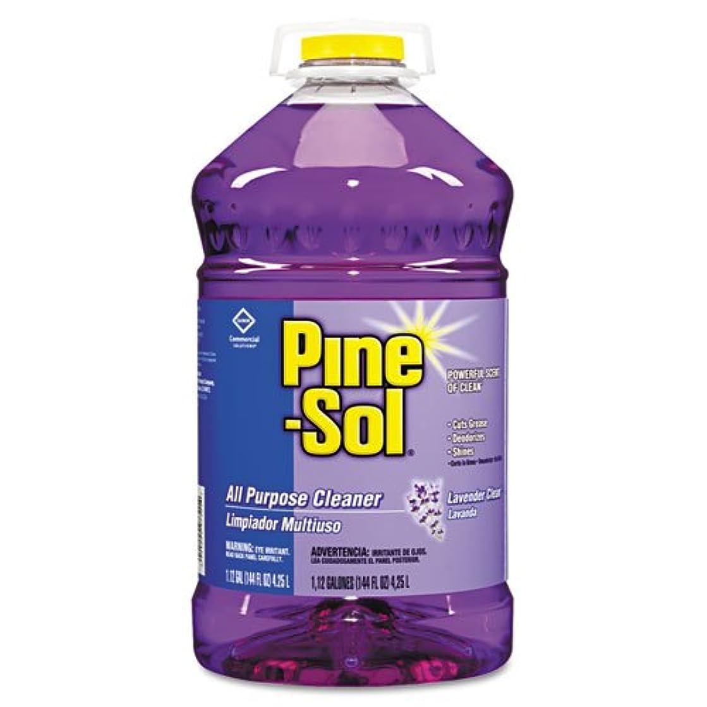 Pine-Sol All-Purpose Cleaner, Lavender, 144oz Bottle - Includes three per case.