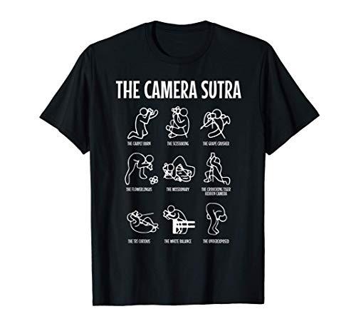 Posiciones de fotografía sexual del Sutra de la cámara Camiseta