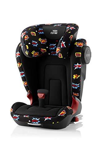 Britax Römer Kindersitz 3,5 - 12 Jahre I 15 - 36 kg I KIDFIX 2 S Autositz Isofix Gruppe 2/3 I Comic Fun