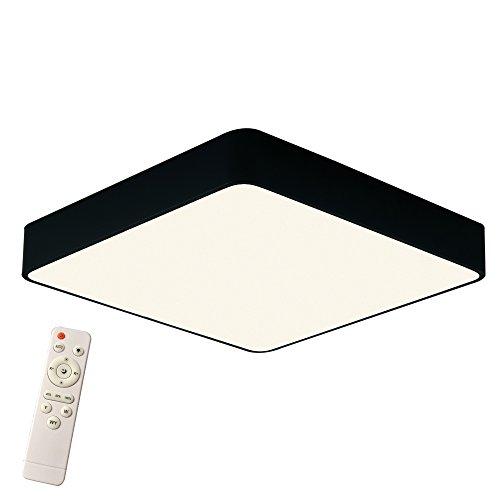 Preisvergleich Produktbild 36W Dimmbar Platz Deckenleuchte Künstlerisches Design LED Deckenlampe 500 * 500 * 60 mm Kreative Modern Lampe für Wohnzimmer Schlafzimmer Küche Korridor Restaurant (36W Dimmbar)