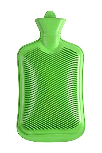 LOZOX Non-Electric Hot Water Bottle | Rubber Bag | Warm Non-Electrical for Pain Relief | Muscle Relaxation- Multi Color