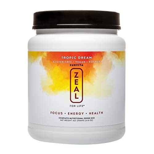 Zurvita Zeal for Life 30-Day Wellness Canister, 420 Grams, Tropic Dream
