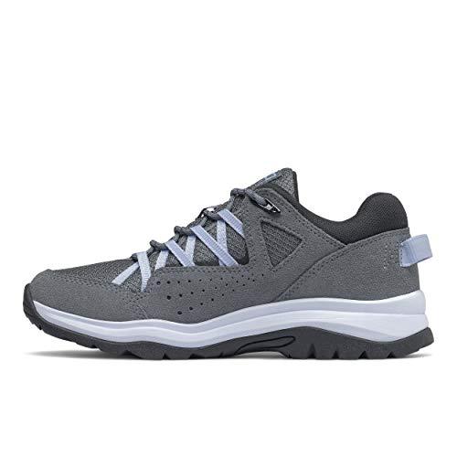 New Balance womens 669 V2 Walking Shoe, Lead/Frost, 8.5 US