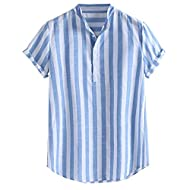 Better work: we listen to customer feedback so as to optimise every detail to ensure quality, fit, and comfort. These men's tops are suitable for holidays, parties, work, beach, street occasions in summer, spring and autumn. Men's polo t-shirt Hawaii...