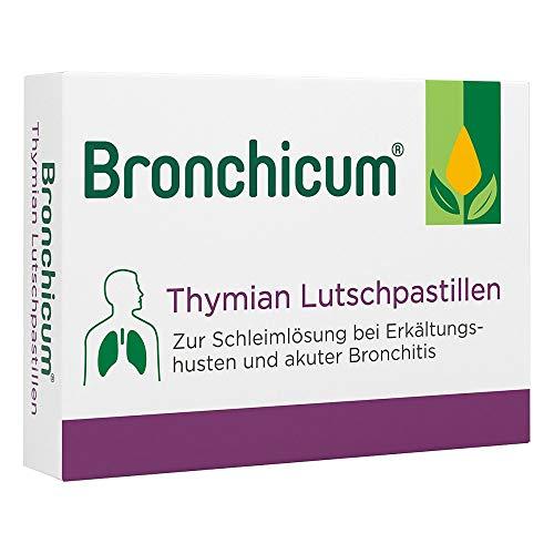 Bronchicum Thymian Lutschpastillen, 20 St. Tabletten