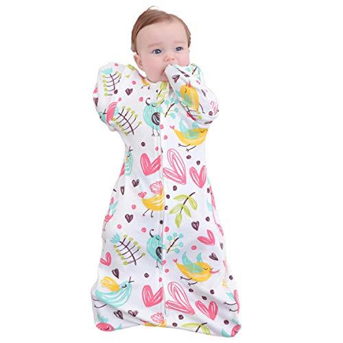 Saco de dormir de algodón transpirable para bebé manta para asiento de coche para recién nacidos perfecto para cochecitos cunas para niños de 3 a 9 meses