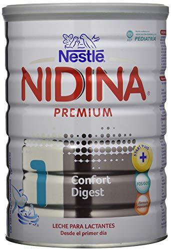 Nestlé NIDINA CONFORT DIGEST 1 - Leche para lactantes en polvo - Fórmula Para bebés -Desde el primer día - 800g