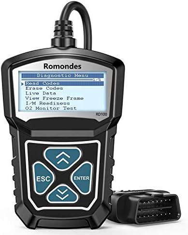 Romondes RD100 OBD2 Scanner Full OBDII 10 Modes Code Reader for Check Engine Light All Cars product image