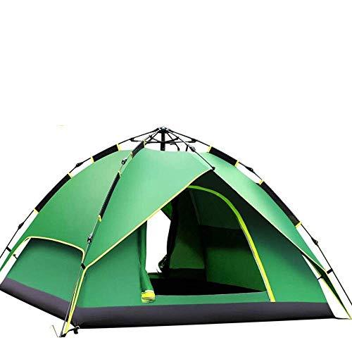 Nuokix Camping-Zelt, Kann 2-4 Personen Regenfest im Freienzelt, tragbare Camping-Set, 135 * 215 * 215cm Beherbergungs
