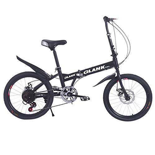 Bicicleta Bicicleta De Montaña Carretera Plegable Adulto Specialized Velocidad Variable con Sistema De Freno Doble V Mini Ligero Portátil Trek Bicicleta