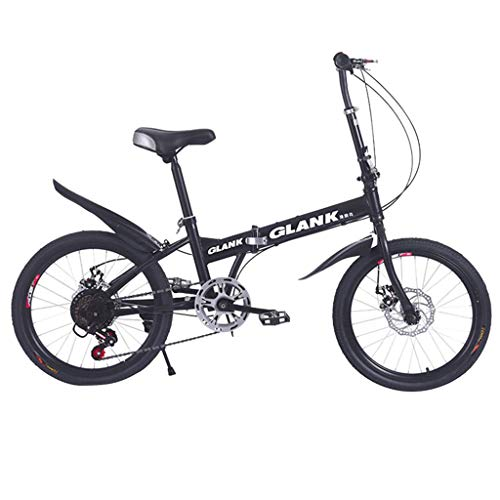 Ninasill Adult Mountain Bikes - 24 Inch Steel Carbon Mountain Trail Bike Fariable Speed Bicycle Folding Bicycles,Full Suspension MTB Mountain Bicycle- US Fast Shipment