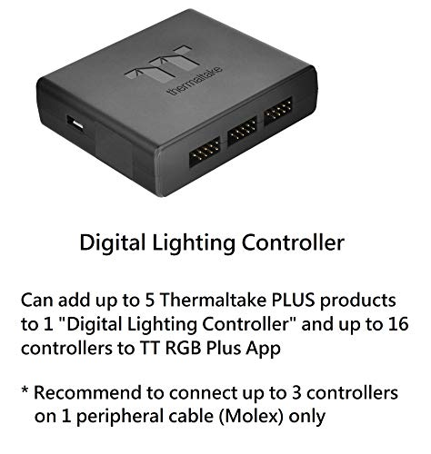 Thermaltake Pacific W6 16.8 Million Color RGB Alexa Razer Chroma Syncable AMD Ryzen Threadripper TR4 Full Coverage CPU Water Block CL-W225-CU00SW-A