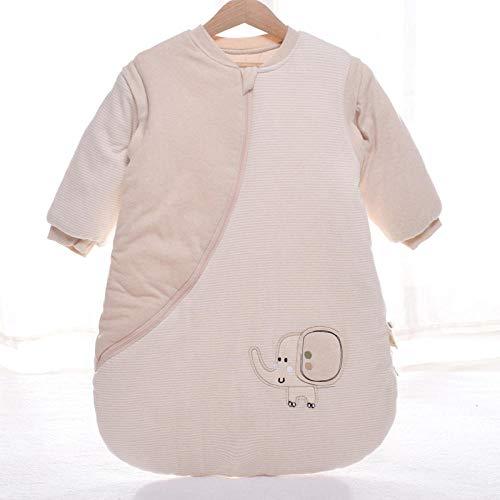 QFYD FDEYL Epaisse Mignon Douce Couverture,Gigoteuse anti-saut-C-007 Baby Elephant_60 Yards, Sac de Couchage pour bébés 0-2 Ans, Hiver