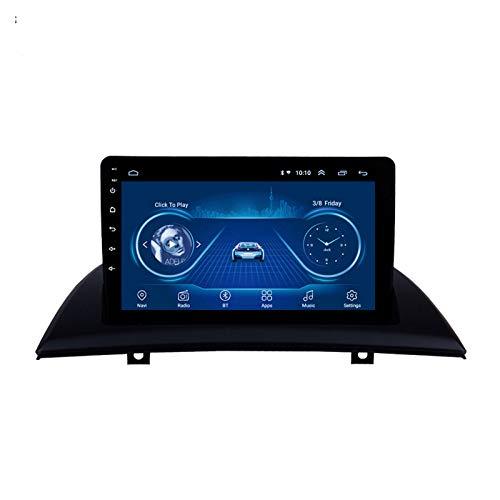 Navegador GPS para coche 1G + 16G Android 9 Auto estéreo para BMW X3 Series 2006-2010 Radio de coche Reproductor de vídeo multimedia Navegación GPS