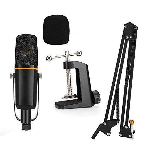 Natruss Rauscharmes Mikrofon, Kondensatormikrofon, Studiomikrofon, Membran-Soundkopf für Aufnahmestudios