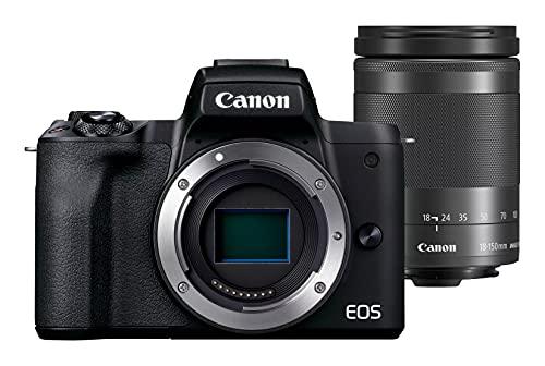 Canon EOS M50 Mark II Black BODY + Canon EF-M 18-150mm