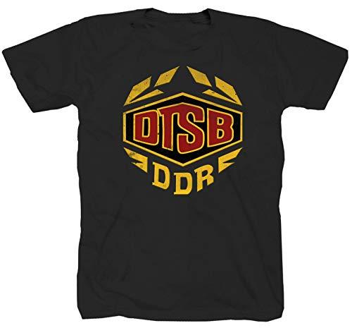 DTSB DFV DDR Ossi schwarz T-Shirt (S)