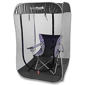 BugPod Undercover SportPod Pop Up Insect Screen Pod Tent - Black