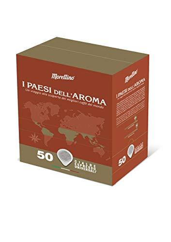 Caffè Morettino Cialde Espresso Ese I Paesi dell Aroma, 375g