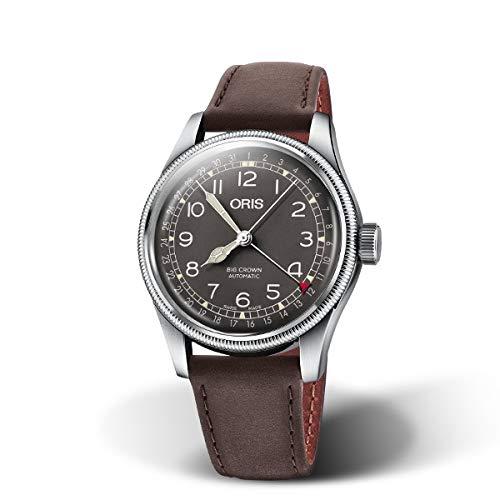 国内正規品 ORIS オリス ビッグクラウンポインターデイト 40mm Big Crown Pointer Date メンズ 腕時計 自動巻き 革ベルト ブラック文字盤 黒 01 754 7741 4064-07 5 20 64