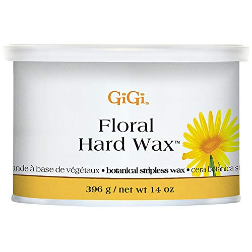 GiGi Floral Hair Removal Hard Wax - Non-Strip, 14 oz