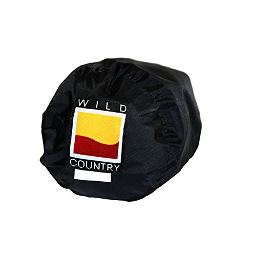 Wild Country Unisex's Blizzard 3 voetafdruk grondzeil beschermer, zwart, één maat