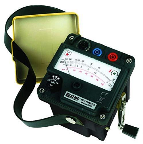 AEMC - 2126.52 6503 Hand-cranked Megohmmeter, 5000 Megaohms Resistance, 1000V Test Voltage
