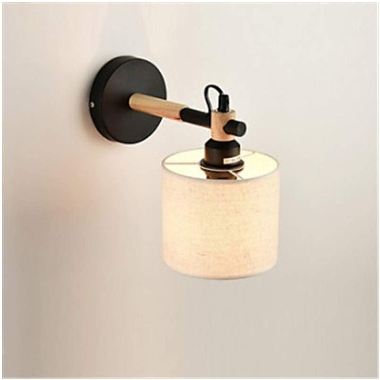 SCH Moderne Zeitgenssische Wandleuchten & Wandlampen für Metallwandleuchte Kreative Wandleuchte Wohnzimmer modernes Hotel Schlafzimmer Nachttischlampe (Farbe   schwarz)