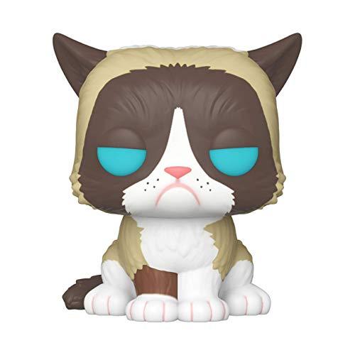 Funko- Pop Icons Grumpy Cat Juguete Coleccionable, Multicolor (34107)