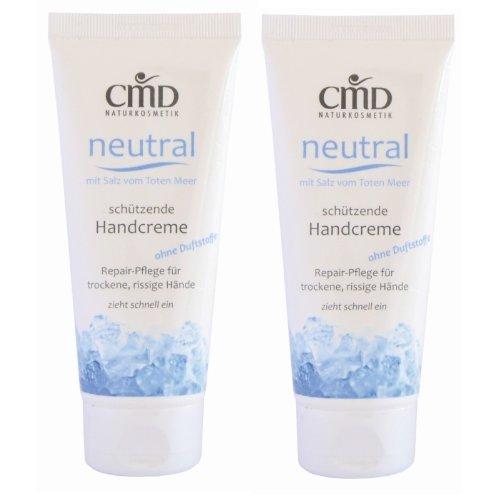 CMD Neutral Crema de manos con sal del mar muerto (2 unidade