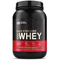 Optimum Nutrition ON Gold Standard 100% Whey Proteína en Polvo Suplementos Deportivos, Glutamina y Aminoacidos, BCAA, Extremo Chocolate con Leche, 28 porciones, 900g, Embalaje puede variar