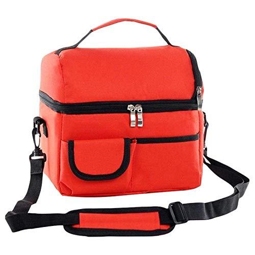 FZYE Cool Bag Cooler Bag Bolsa de Picnic Bolsa de Entrega de Alimentos Caja de Picnic multifunción Bolsa de Almuerzo de Doble Cubierta Bolsa de Aislamiento térmico Bolsa de Almuerzo de