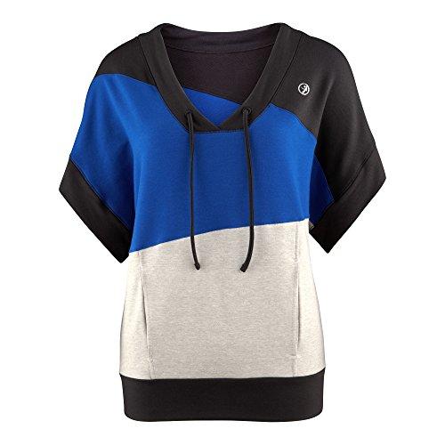 Zumba Sudadera Breezy Wide Sleeve Azul XS