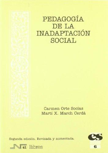Pedagogía de la inadaptación social (Educación social)