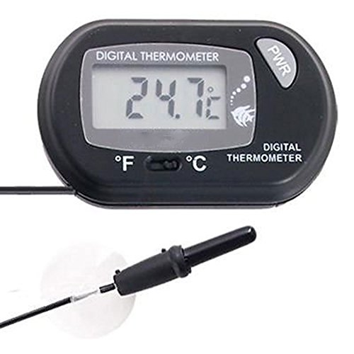 LCD Digital Aquarium Thermometer Temperatur Meter Wasser Gauge Aquarium Marine Messung