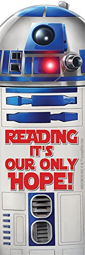 Eureka Classroom Supplies Star Wars Bookmarks for Teachers, 36pc