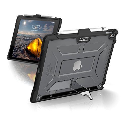 Urban Armor Gear Plasma para Apple iPad Air (2019) / iPad Pro 10.5 (2017) Funda con estándar militar estadounidense Case [soporte del lápiz táctil] - Transparente
