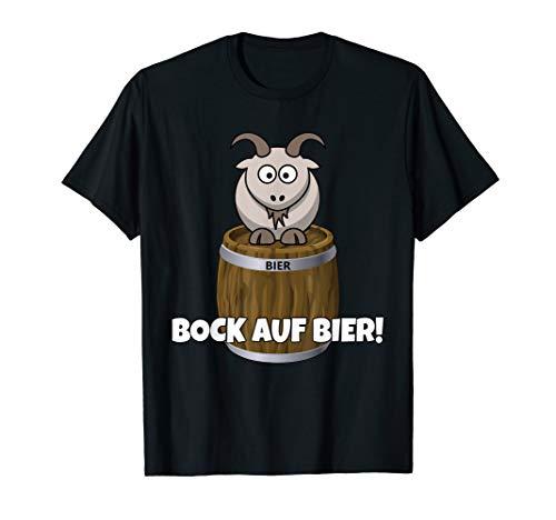 Bock auf Bier Fass Shirt Oktoberfest T-Shirt Geschenk TShirt T-Shirt