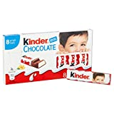 Kinder Cioccolato, Formato Scorta Contenente 10 Confezioni da 8 Barrette