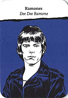 Dee Dee Ramone trading Card (Ramones) 2018 Come Together Rock Bands