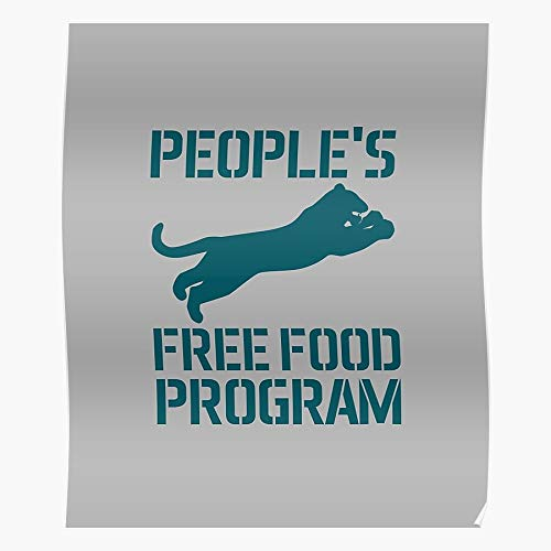 Trendy Free Black People Food Leaping Panther Peoples Funny Trending Program Home Decor Wall Art Print Poster !