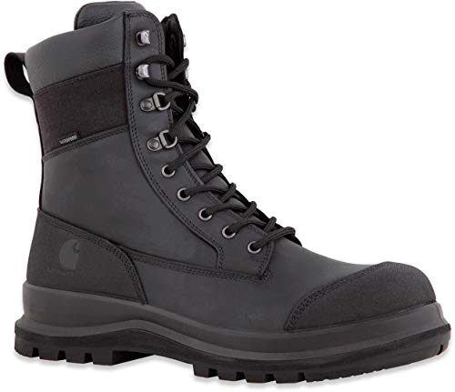 Carhartt F702905 Detroit Rugged Flex Waterproof S3 Sicherheitsstiefel 40 Black