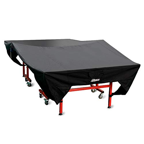 UBOWAY Ping Pong Table Cover: Table Tennis Cover Sun Proof, Rain Proof, Dust Proof for Indoor or Outdoor (2020 Upgrade)
