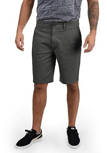!Solid Lomego Herren Chino Shorts Bermuda Kurze Hose, Größe:XL, Farbe:Dark Grey (2890)