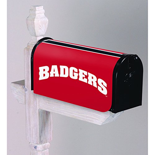 Team Sports America U of Wisconsin-Madison Mailbox Cover - 18 x 21 Inches